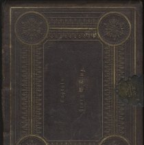 Image of Holy Bible:  arranged for photographic portraits and family album:  Bible of Captain Henry W. King - Bible