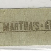 Image of Banner found in Bible of Captain Henry W. King - Ribbon, Promotional