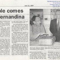 Image of Family Bible comes home to Fernandina - Newspaper