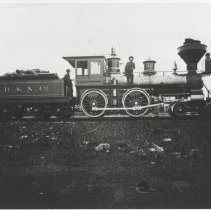 Image of F.R. & N.Co. Engine No. 46 - Print, Photographic