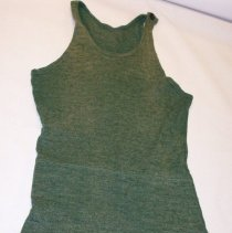 Image of Green 1920s Bathing Suit. - Suit, Bathing