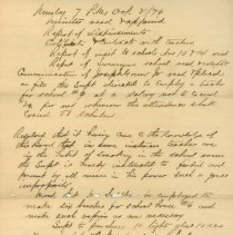 Image of Nassau County School Board Minutes, Oct.2, 1876 - Minutes