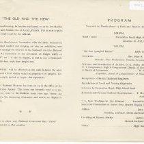 Image of Railroad Centennial Day Program - Program