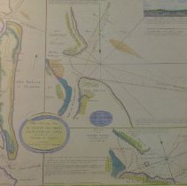 Image of Navigational information of Amelia Island in 1779 - Map