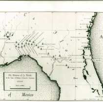 Image of Spanish Missions of SE GA, NE FL 1674-1675 - Map