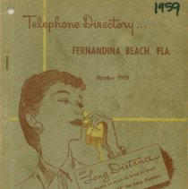 Image of 1959 Telephone Directory