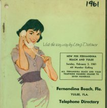 Image of 1961 Telephone Directory