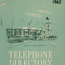 Image of 1965 Telephone Directory