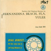 Image of 1967 Telephone Directory
