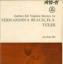 Image of 1970-71 Telephone Directory