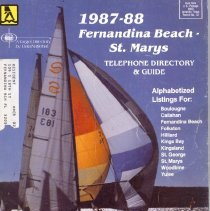 Image of 1987-88 Telephone Directory & Guide, Fernandina Beach - St. Mary's, also includes Boulougne, Callahan, Folkston, Hilliard, Kings Bay, Kingsland, St. George, Woodbine, Yulee. - Directory, Telephone