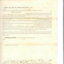 Image of Bill of Sale #3 from 1851