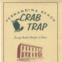 Image of Crab Trap Menu - Menu