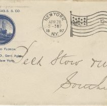 Image of Envelope to Peck Stow & Wilcox Co.