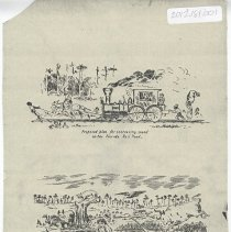 Image of Two cartoons about the Florida Rail Road - Cartoon