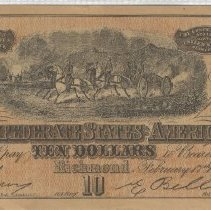 Image of Confederate States of America Money - Money, Paper