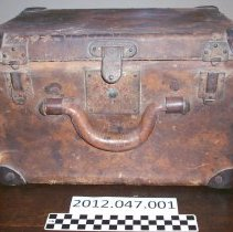 Image of Top Hat Luggage Case - Hatbox