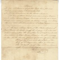 Image of Extract #774 (Description of land claim) on St. Johns River - Deed