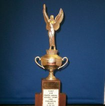 Image of Trophy from Fourth Annual Golden Crown Prix - Award