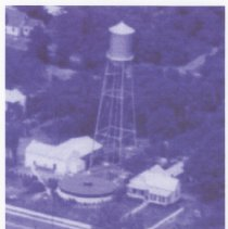 Image of Municipal Water Works Tower         - Print, Photographic