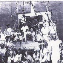 Image of Fishing boat crew - Print, Photographic