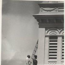 Image of Nassau County Courthouse renovation - Print, Photographic