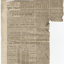 Image of Newspaper Article - Newspaper