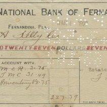 Image of Carnegie Canceled Checks & Disbursement Voucher - Voucher