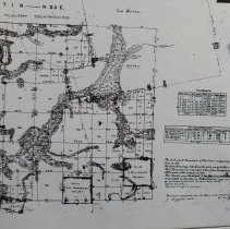 Image of Town 1 N Range 25 E, 1850 - Map