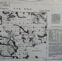 Image of Town 2 N Range 25 E, 1851 - Map
