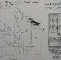 Image of Town 3 N Range 27 E, 1834 - Map