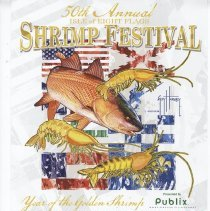 Image of 50th Annual Isle of Eight Flags Shrimp Festival - Poster