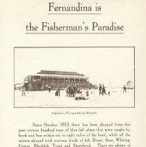 Image of Poster advertising Fernandina