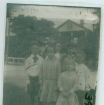 Image of Group of children - Print, Photographic