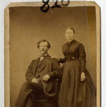 Image of Posed Couple - Print, Photographic