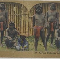 Image of Igorots, Philippine Islands - Stereograph