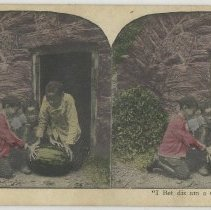 Image of Choosing a watermelon - Stereograph