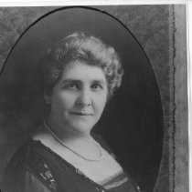 Image of Kate Bailey oval portrait - Print, Photographic