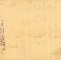 Image of Check:10/29/1898(back)
