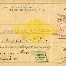Image of Check:12/31/1898
