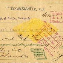 Image of Check:02/22/1899