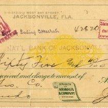 Image of Check:03/15/1899