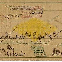 Image of Check:9/20/1898