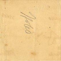 Image of Check: 9/27/1898(back)