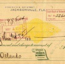 Image of Check:10/06/1898
