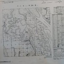Image of Town 1 N Range 28 E, 1851 - Map