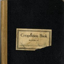Image of Composition Book Belonging to Katherine Hirth - Notebook