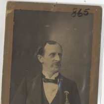 Image of Seated man with medals - Print, Photographic