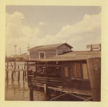 Image of Rear of Leonard's Bait Shop - Print, Photographic