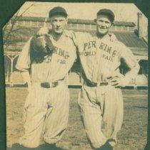 Image of Two baseball players.